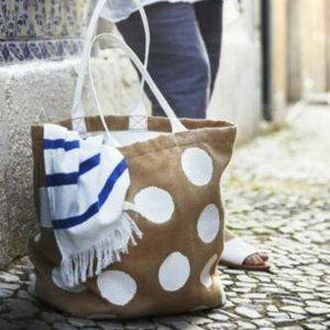 IKEA Tankvard Jute 100% Cotton Bag- 802.270.27
